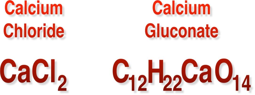 CaCl vs CaGl